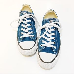 Converse Teal Blue Chuck Taylor's